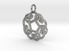 Celtic Circle Knot Pendant (small) 3d printed