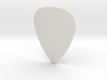 Basic 1mm Guitar Plectrum 3d printed