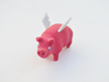 flying pig 3d printed