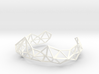 Wireframe Tiara 3d printed