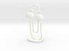 CLIPPY - small (3mm thin) 3d printed