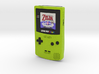 1:6 Nintendo Game Boy Color (Kiwi Zelda) 3d printed