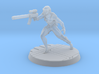 Assassin 28mm-32mm scale 3d printed Assassin Frosted