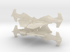 6mm Hangnail Ground-Attack Fighter (4pcs) 3d printed