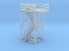 'N Scale' - 10'x10'x20' Tower Top With Stairway 3d printed