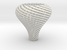 Lampshade Pear Twisted 3d printed