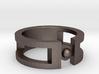 Sphere ring 3d printed