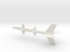 1/144 Scale RTV-N-6 Bumblebee Missile 3d printed