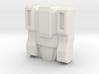 Slog/Kakuryu Faceplate (Titans Return) 3d printed