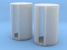 500 Gallon Fuel Barrels X 2 3d printed