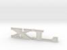 """Immortan Joe """"XL"""" Shin Badge / Emblem 3d printed"""