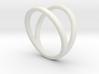 Split Ring Size 8 3d printed