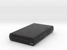 1:6 Nintendo Wii U (Black) 3d printed