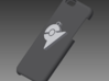 Pokemon Go inspired Gym Keychain 3d printed representation of size compared to iphone 6