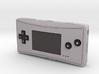 1:6 Nintendo Game Boy Micro (Silver) 3d printed