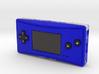 1:6 Nintendo Game Boy Micro (Blue) 3d printed