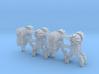 Dwarf B&O CPL-GndBrkt(6) - HO 87:1 Scale 3d printed