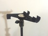 ORTF Stereo Mic Clip 20mm 3d printed Better than a stereo bar!