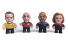 Kirk Star Trek Caricature 3d printed Collect all the Star Trek captains!