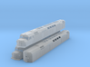 N Scale F40DDPH w/Louvered Side Panels 3d printed