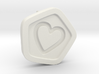 3D Printed Bond What You Love Stud Earrings 3d printed