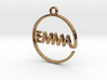 EMMA First Name Pendant 3d printed