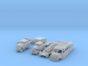 BONUS SET Stromlinienfahrzeuge (TT 1:120) 3d printed