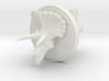 Triceratops Head Cufflink 3d printed