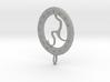 Rune Medallion 3d printed