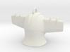 Jeeg Head Pendant  Mini 3d printed