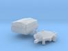 HP 350.01 mit Hochplane (N 1:160) 3d printed