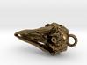 Dolphin Skull Pendant 3d printed