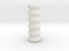 Hollow baumkuchen 3d printed