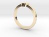 Heart Mid Finger Ring 3d printed