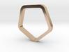 Pentagon Ring 3d printed