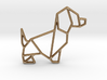 Origami Dog No.2 3d printed