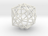 0493 Truncated Octahedron + Dual 3d printed