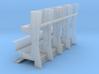 YT1300 DEAGO HALL PILLARS BIG SEPARATE TUBES 3d printed