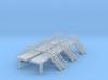 N Scale 6x Platform End Stairs 3d printed