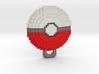 Pokeball Pendant 3d printed