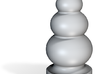 Porcelain Ball Stack Plug 3d printed