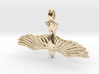DOVE Symbol Jewelry Pendant 3d printed