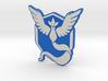 Pokemon Go - Team Mystic Badge 1 3d printed