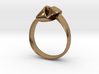 Knot Ring - Size 8 3d printed