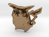 Pikachu-earring 3d printed