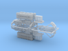 MIM 104 Patriot PAC-3 SAM Missile Launcher 1/285 3d printed