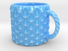 Dragon Scale Coffee Mug  3d printed