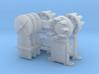 Dwarf B&O CPL(3) 'O'/027 - 48:1 Scale 3d printed