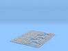 96-H0030: Jet Blast Deflector 6 panels 1:96 3d printed