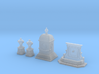 SET Wall fountain with monuments (TT 1:120) 3d printed
